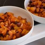 Gratin de pomme de terre au Gorgonzola Pomme cuites