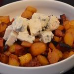 Gratin de pomme de terre au Gorgonzola Ajouter le Mascarpone