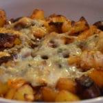 Gratin de pomme de terre au Gorgonzola