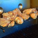 Poulet à L'Indienne Griller sur le barbecue