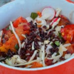 Salade riz Vénéré
