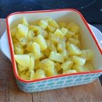 Salade de harengs Cuire les pommes de terre