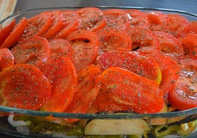 Trancher puis ranger les tomates