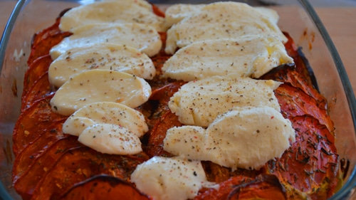Couper et ranger la mozzarella