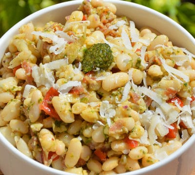 Salade de haricot Lingot blanc