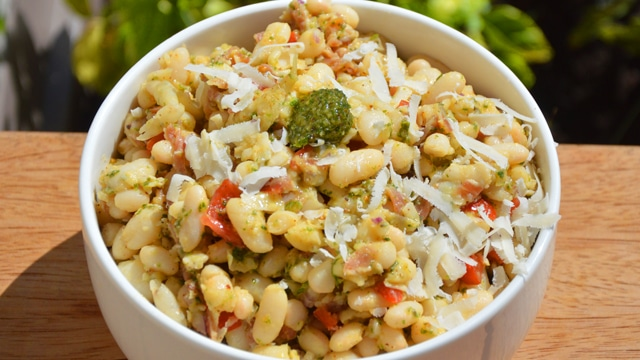 <span class='p-name'>Salade de haricot Lingot blanc</span>