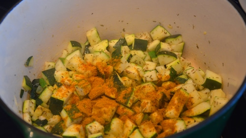 Ajouter le curry