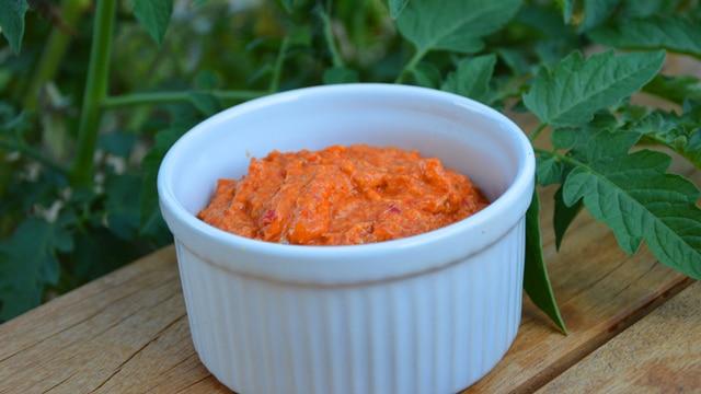 Rillettes de chorizo au poivron rouge