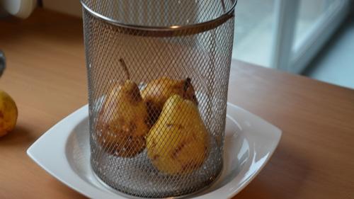 Laisser mûrir doucement les poires