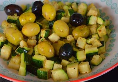 Ajouter les olives