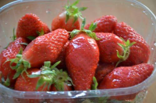 Rincer les fraises