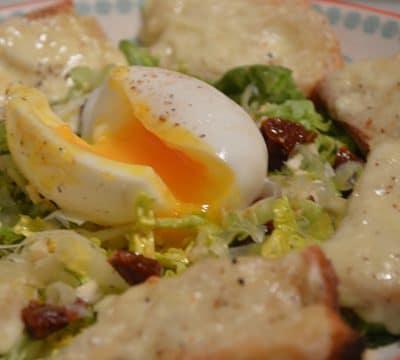 Salade et raclette