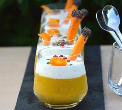 Gaspacho de carotte