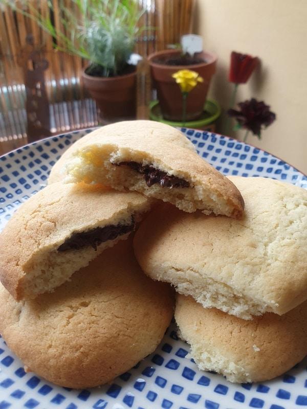 <span class='p-name'>Cookies cœur fondant Nutella</span>