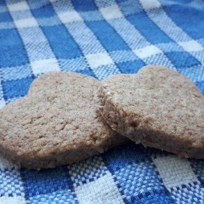 Shortbreads cannelle noix de coco