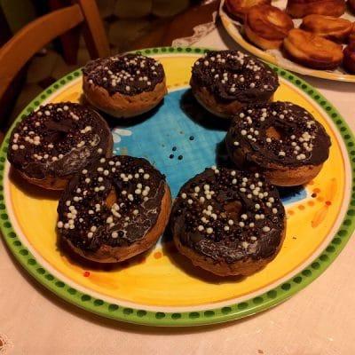 recette de duo de donuts